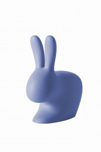 KRZESEŁKO RABBIT CHAIR BABY LIGHT BLUE